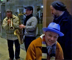 Raul Malo, Jerry Dale                           McFadden, Paul Armstrong, Max Abrams,                           Bridgewater Halll, Manchester, 27 Feb 2015
