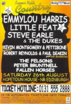 Hopetoun House flyer,                                           August 2000