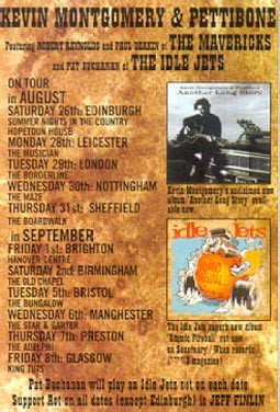Kevin                                           Montgomery and the                                           Roadtrippers UK tour poster,                                           2000