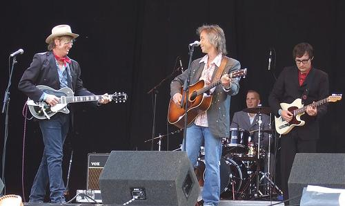 Chuck Mead, Jim Lauderdale, Paul Deakin, Chris Scruggs