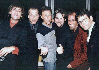 With Paul McCartney 2000